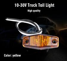 """1x Amber 12V LED Side Marker Light 2.5"""" Clearance Lamp Truck Trailer Light"""