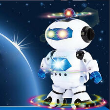 360° Music Robot Astronaut Electronic Walking Dance Smart Space Kids Toy Gift
