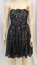 Robert Rodriguez for Neiman Marcus Strapless Black Lace Dress w/ Tags Sz. 6