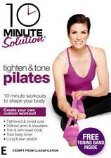 10 Minute Solution: Tighten and Tone Pilates with toning band * NEW DVD workout