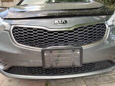 2 UNBREAKABLE Flat Clear Shield + 2 Black Frame + 8 Screw Caps for Cars & Trucks