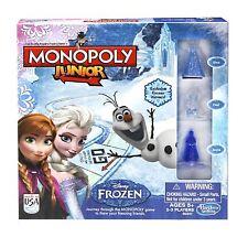 Monopoly Junior Disney Frozen Edition Board Game Kids Children Family Party Xmas