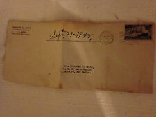 COLLECTABLE -OLD POSTAGE 3 CENT STAMP-  ON ENVELOPE DATED SEPT 26, 1948
