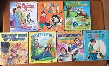 7 Vintage Children's Whitman Tell-A-Tale Books 1951 - 1973 Great Collection