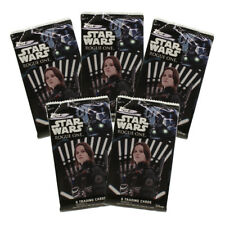 Topps Collectible Trading Cards - Star Wars: Rogue One Series 1 - 5 Pack Lot