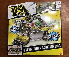 NEW Mattel VS Rip-Spin Warriors PLAYSET, Twin Tornado Arena Kids Pretend PLAYSET