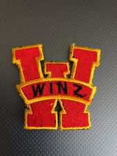 W WINZ  PATCH IRON ON OR SEW ON