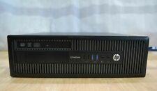 HP EliteDesk 800 G1 SFF i7 4770 8GB RAM 256GB SSD Desktop Windows 10 Pro