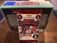 1 - 2020 Panini Contenders Football FOTL 1st off the line Hobby Box Pack