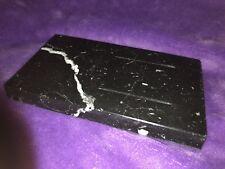 Mini Deluxe Chopping Board In Granite With Groves ( Nero Marquina ) 185x105x20