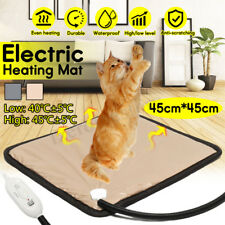 2 Gear Pet Electric Heating Mat Heater Pad Blanket Dog Bunny Bed Cat   !