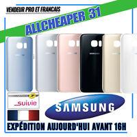 Vitre Arrière S7 EDGE Samsung Cache batterie Stickers ORIGINAL Outils au Choix