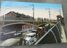 Normalformat Sammler Motiv-Ansichtskarten aus Deutschland mit Eisenbahn & Bahnhof