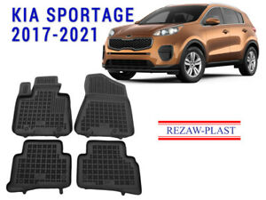 GG Bailey D51532-F1A-LP Custom Fit Car Mats for 2016 2017 2018 Kia Sportage Leopard Front Set
