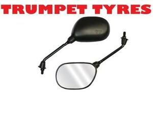 PAIR MOTORCYCLE SOURCE E-MARKED BOLT FITMENT UNIVERSAL REARVIEW BIKE MIRRORS