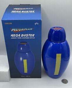 Mega Man Mega Buster Ceramic Travel Container With Lid (28oz)