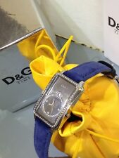 D&G DOLCE & GABBANA TIME SEAQUEST CRYSTAL ACCENTED LOVELY LADY WATCH  NEW DW0116
