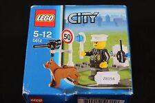 ZB194 LEGO 5612 city chien securité limitation vitesse 2008