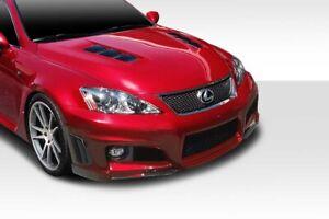 08-14 Lexus IS-F W-1 Duraflex Front Body Kit Bumper!!! 114733