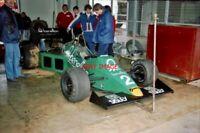 PHOTO  HSCC SILVERSTONE 24.9.88  DAVID MCLAUGHLIN AND HIS DRAGON RACING-RUN F1 B