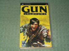Gun Showdown (Sony PSP) in Case Action Shooter Game