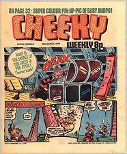 CHEEKY 18th March 1978 IPC Magazines Ltd. weekly 8p vollständig 32 Seiten
