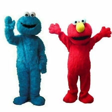 2018 New Cute Sesame Street Elmo Monster Mascot Costume Christmas Cosplay Gifts