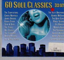 (DX353) 60 Soul Classics - 1999 3 CD Boxset