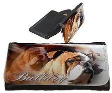 Frauen Geldbörse Brieftasche Englische Bulldogge 1 English Bulldog Portemonnaie