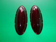 "1954 CHEVROLET BEL AIR 210 ""LEE"" LARGE BUBBLE CUSTOM TAILLIGHT LENS-PAIR-NEW"
