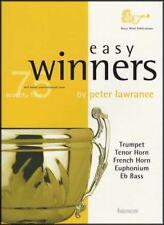 Easy Winners Trumpet Eb/f Horn Euphonium EB Bass Sheet Music Book 75 Tunes