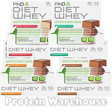 PhD Nutrition Diet Whey Bars 12 x 50g Bar Protein Bars Weight Loss Protein Bar