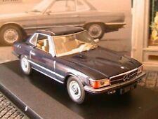 MERCEDES BENZ 350 SL 1971 R107 V8 IXO 1/43 GERMANY BLUE ALTAYA 350SL BLAU BLEU