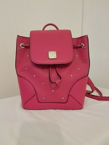 MCM Neo Pink Backpack