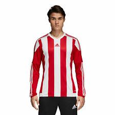 NEWT Men's ADIDAS Striped Football Soccer Jersey T Shirt Climacool Size 2XL