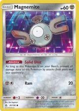 4x Pokemon TCG Ultra Prism - Magnemite 81/156 + 2x Magneton - NM/M
