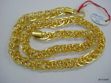 Traditional design 22kt gold chain necklace handmade gold chain