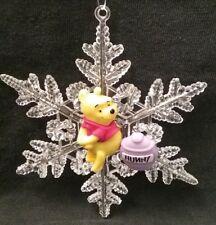 Disney Winnie the Pooh Christmas Ornament set of 4 New Eeyore Tigger Piglet