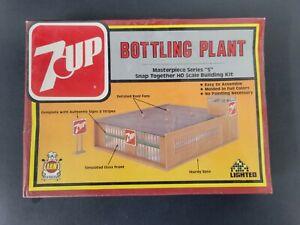 SEALED Vintage AHM 7Up Bottling Plant Model Kit - 1984 - Snap On -HO Scale