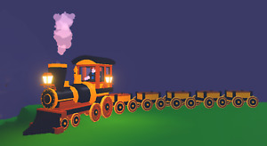 SALE - ROBLOX ADOPT ME VEHICLES- CHOO- CHOO TRAIN LEGENDARY (OUT OF THE GAME)