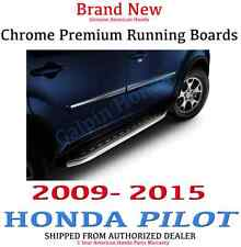 Genuine OEM Honda Pilot Chrome Premium Running Boards 2009-2015 (08L33-SZA-101E)