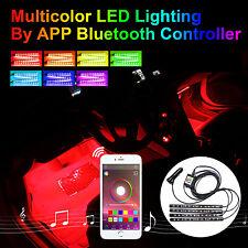 Addmotor RGB LED Light Strips for Car SUV Interior Light Phone App Music Control