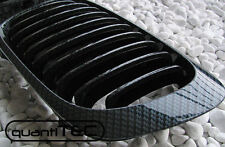 CARBON GRILL KÜHLERGRILL ZIERGITTER SET für BMW E46 3er CABRIO COUPE 99-02 Li+Re