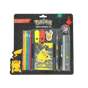 Official Pokemon Super Stationery Set