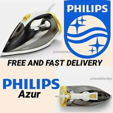PHILIPS Azur GC4537 Steam Iron - Black & Yellow  **FREE AND FAST DELIVERY**