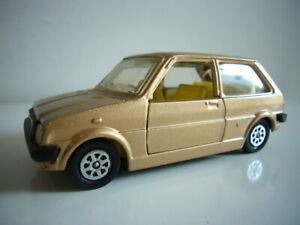 Corgi Toys: Austin Mini-Metro, extremely rare gold promo version, mint, made GB