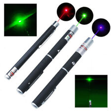 3PCS 5mW Powerful Green Red Purple Laser Pointer Pen Beam Light High Power 532nm