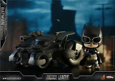HotToys COSB399 Justice League Bruce Wayne Batman + Batmobile COSBABY