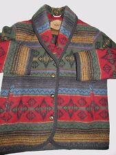 Woolrich Vintage Native Design Wool Blanket Jacket Women's Med. WOR4