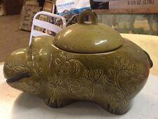 Vintage Hippo Cookie Jar